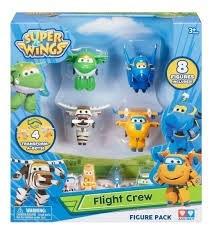 Muñeco Con Vehículo Super Wings