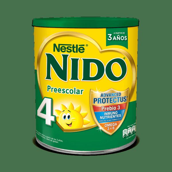 LECHE NIDO PREESCOLAR 4 x 800 GRS