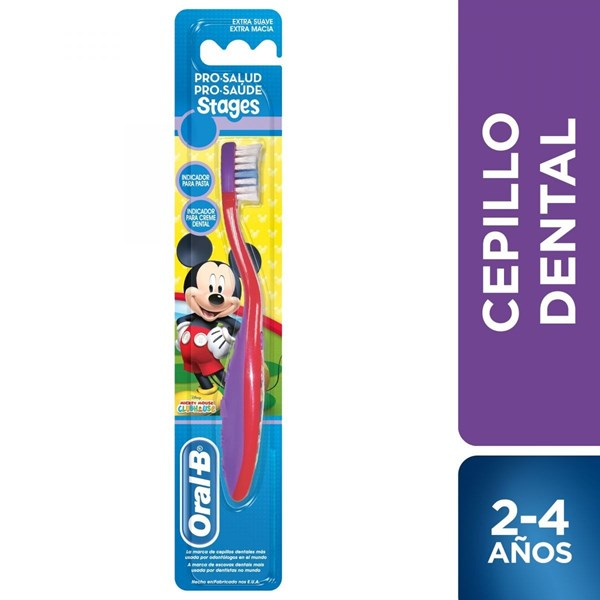 Oral B Cepillo Dental Pro-Salud Stages Mickey Minnie