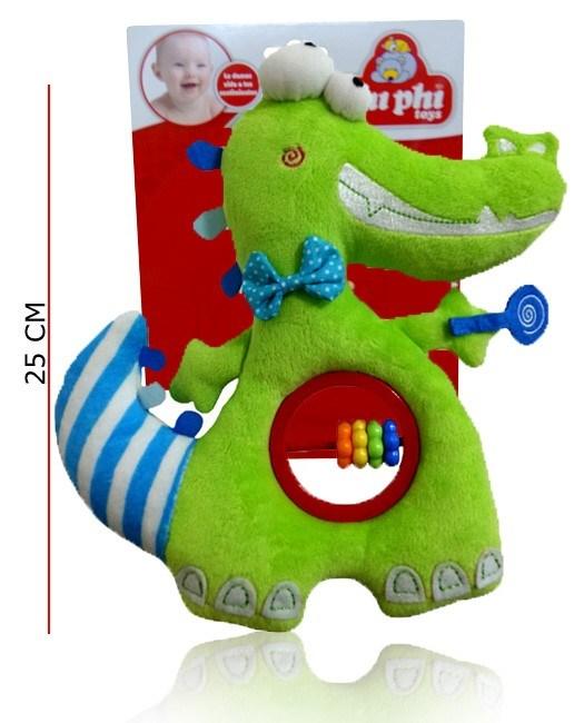 Cocodrilo Sonajero Peluche Phi Phi Toys
