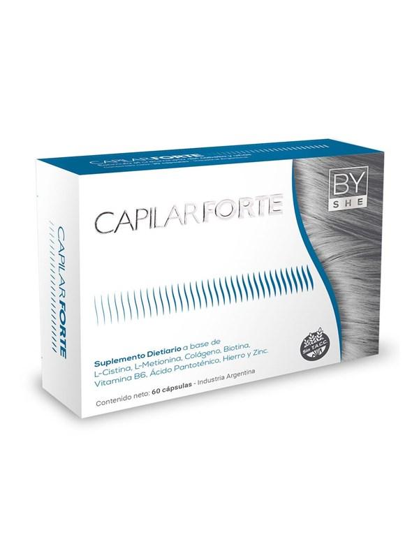 By She Suplemento Dietario Capilar Forte 60 Cápsulas