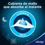 Toallitas Higienicas Always Noches Tranq Seca X 8 Unidades  #5
