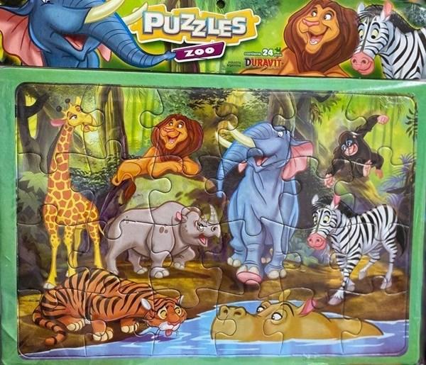 Puzzle Zoo Juego Duravit 24 Piezas