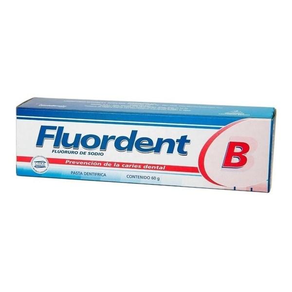 Fluordent B Crema Dental Anti-Caries 60gr