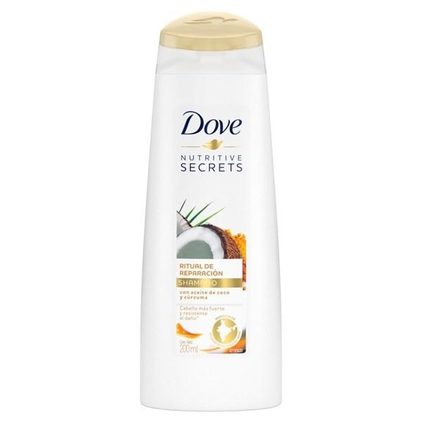 Dove Shampoo x 200ml Ritual De Reparación