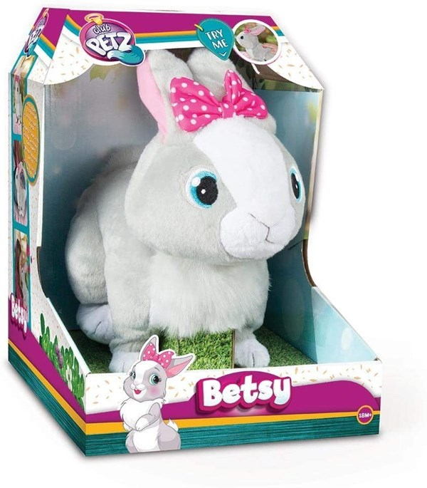 Peluche Betsy Coneja Interactiva Club Petz