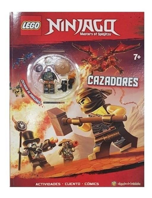 Ninjago Cazadores Libro Lego alt