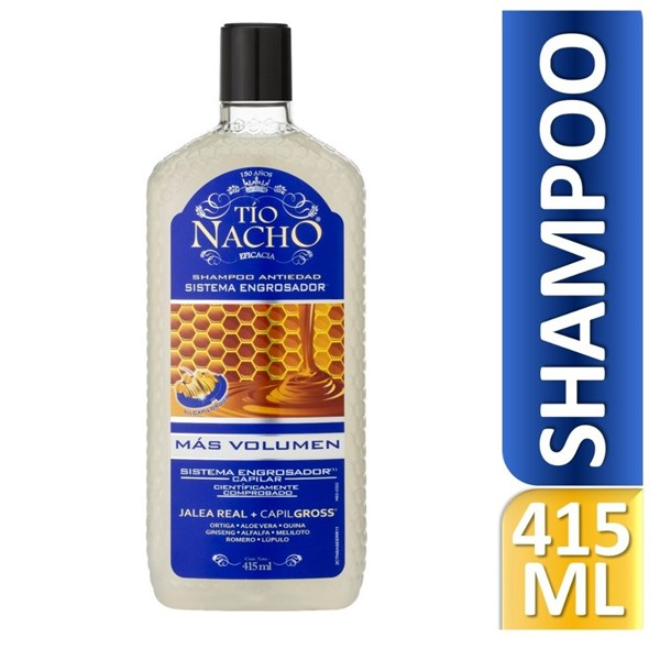 Tio Nacho Shampoo Sistema Engrosador  415 Ml