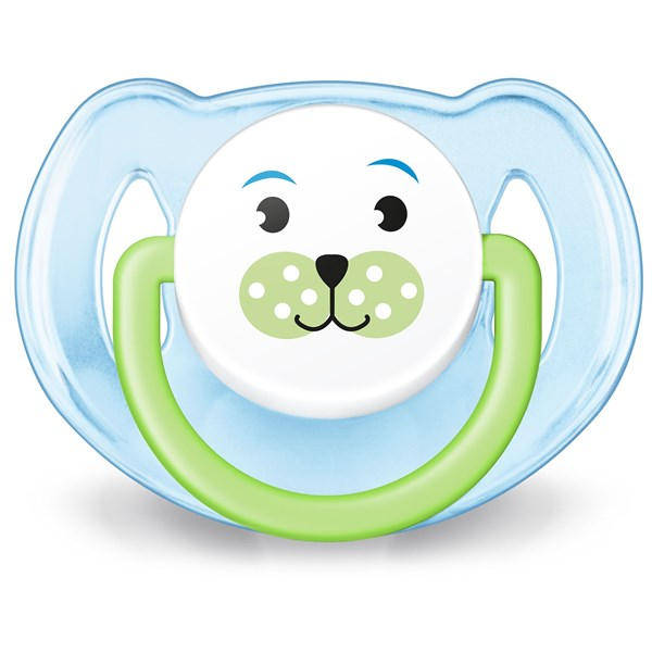 Chupete Ultra Air Liso Avent 0-6 Meses Verde alt