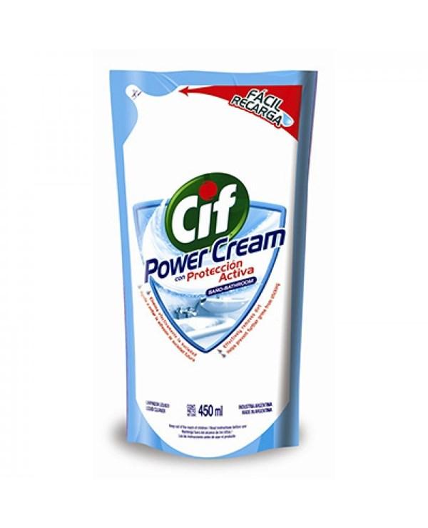 CIF BAÑO DP POWER CREAM x 450 MLTS
