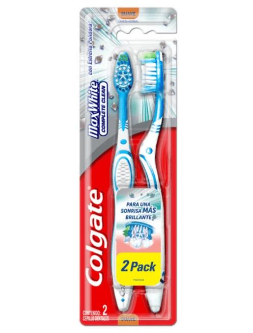 Cepillo Dental Colgate Max White Medio Pack 2x1