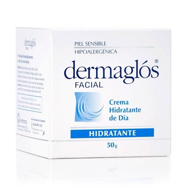 Dermaglos Crema Facial Hidratante De Día Fps 12. 50 Gr Hidratacion Piel Normal