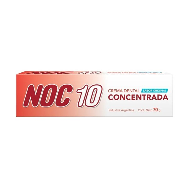 Noc 10 Crema Dental Concentrada X 70g