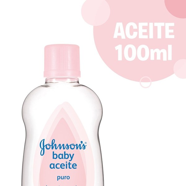 Johnsons Baby Aceite Puro X 100