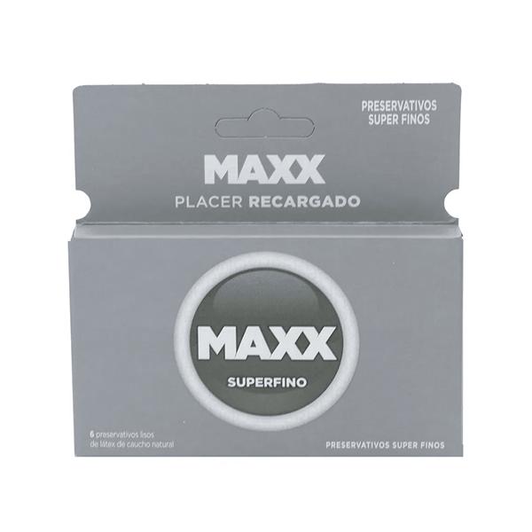 Preservativos Maxx  Super Fino x6