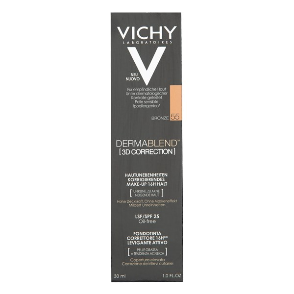 VICHY DERMABLEND 3D CORRECTION 55 T30ML Pomo30ml.