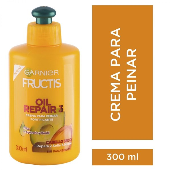 Fructis Crema Para Peinar Oil Repair x300ml