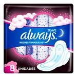 Toallitas Higienicas Always Pink Noches Tranq Suave X 8 Unidades  #1