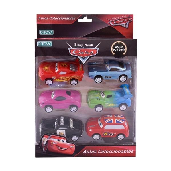 Disney Cars Autitos Coleccionables x6