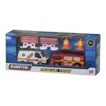 Team Rescue Camión Bombero + Ambulancia + Accesorios #1