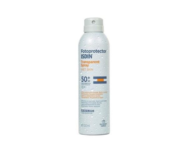 ISDIN Fotoprotector Transparente Spray Wet Skin SPF 50 250ml