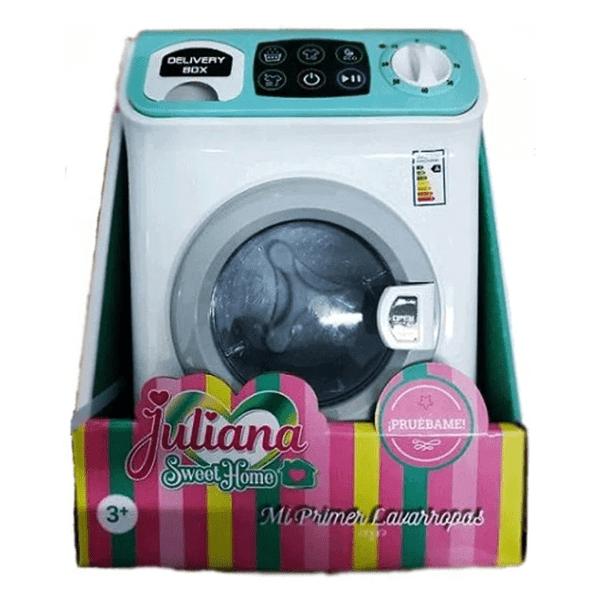 Juliana Mi Primer Lavarropas Con Luz Y Sonido alt