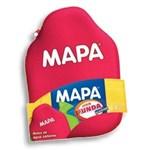 Bolsa De Agua Caliente Mapa 2 Lts. Con Funda Tapa A Rosca. #1
