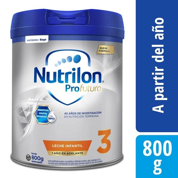 Leche Nutrilon 3 Pro Futura Lata X 800 Gr