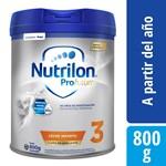 Leche Nutrilon 3 Pro Futura Lata X 800 Gr #1
