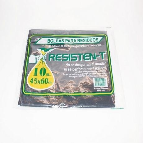 BOLSA RESID.RESISTEN-T 45X60 x 10 U