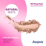 Asepxia Maquillaje Antiacnil Natural Polvo  #3