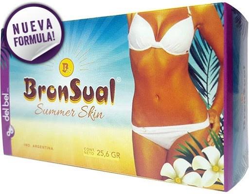 BronSual Summer Skin x32 Comprimidos