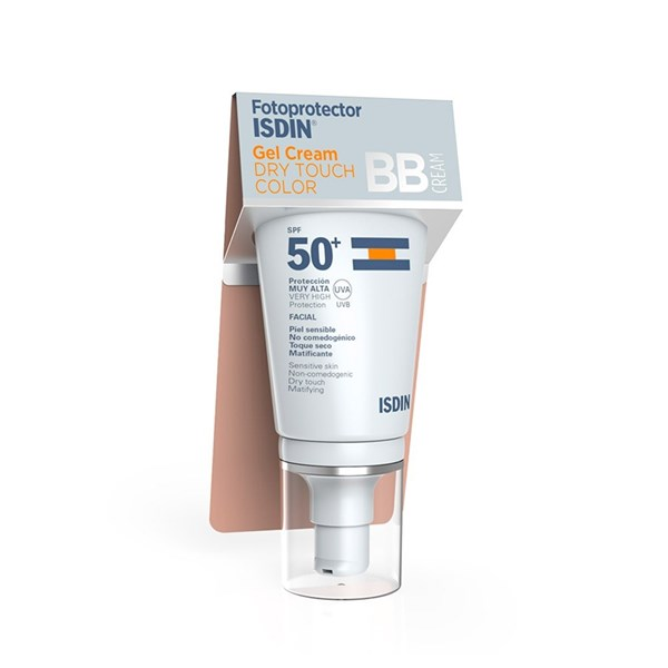 Isdin Gel Crema Fotoprotector Dry Touch Color Gel Crema Spf 50+  X 50 Ml