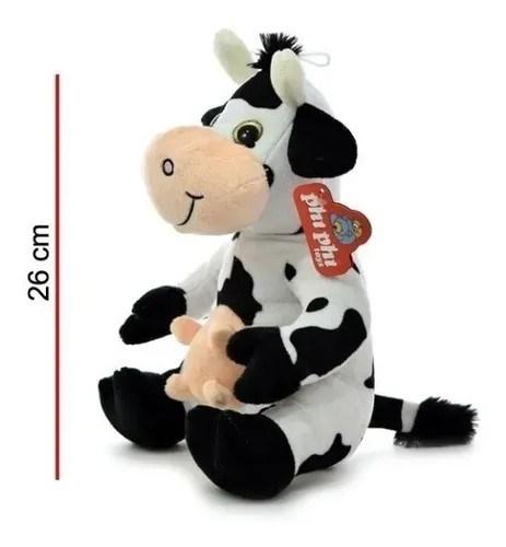 Vaca Sentada Peluche Phi Phi Toys