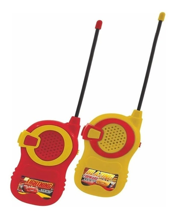 Walkie Talkie Disney Cars Juguete Ditoys alt