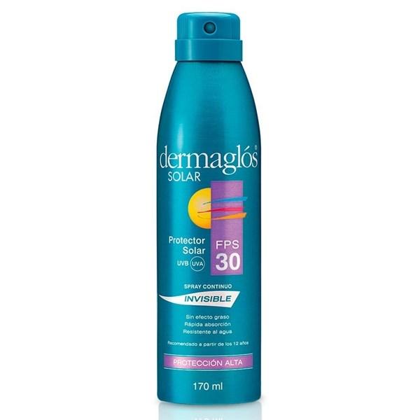 Dermaglos Linea Solar Fps 30 Spray Invisible X 170ml