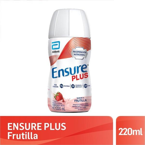 Ensure Plus Frutilla 220 Ml