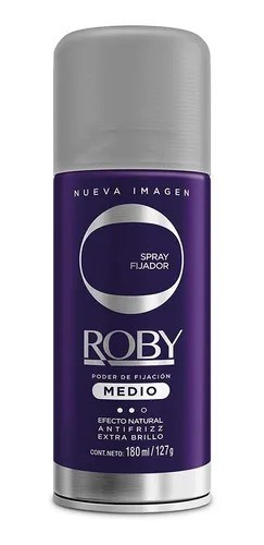 Roby Fijador Medio Violeta 180ml