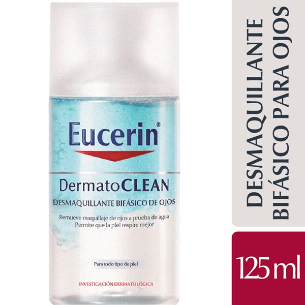 Dermato Clean Eucerin Desmaquillante Bifásico De Ojos X 125 Ml