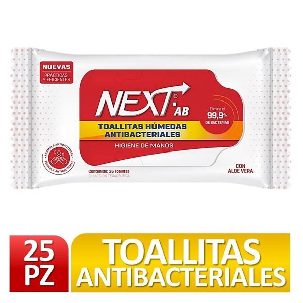 Toallitas Antibacteriales X 25 UNIDADES