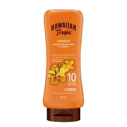 Bronceador Hawaiian Tropic Carrot FPS10 Con Zanahoria 240ml