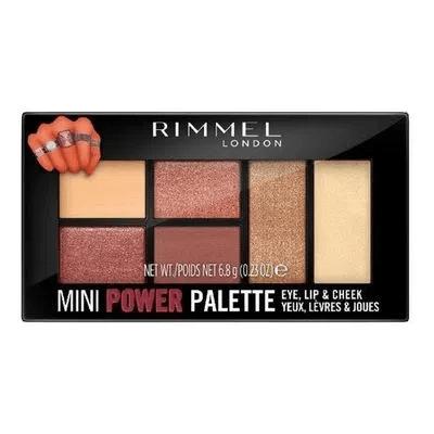 Rimmel Mini Power Palette Sombra De Ojos - 006 Fierce