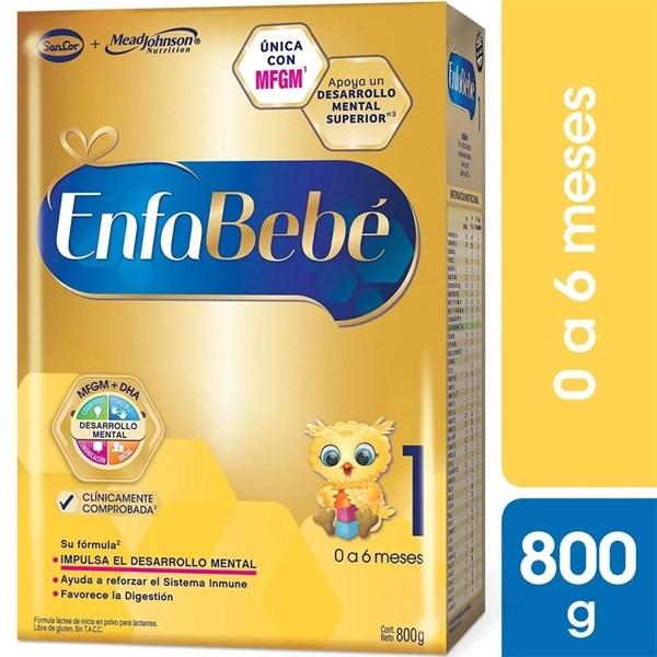 Enfabebé Leche Infantil Polvo Etapa 1, 800 g