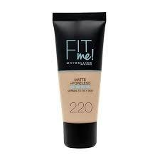 MYMB Firme Matte 220 Natural Beige Maquillaje #1
