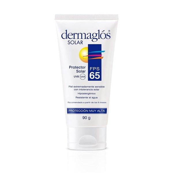 Dermaglós Protector Solar Crema FPS 65 90g