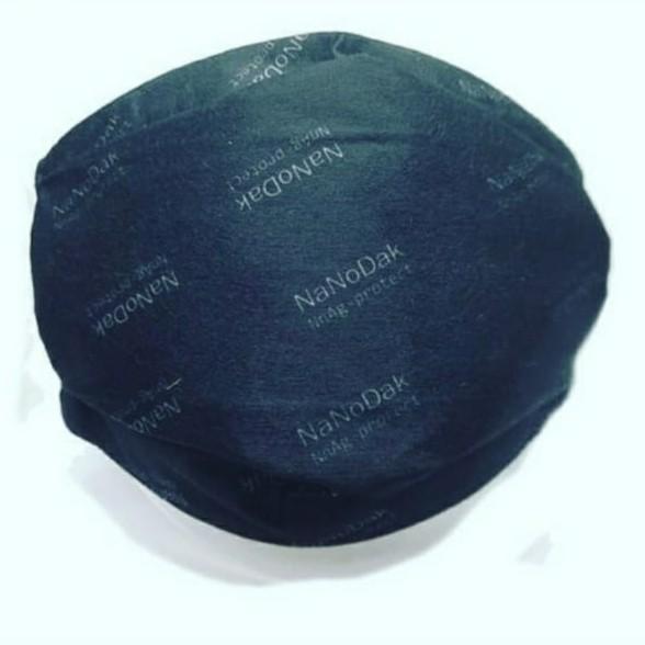 Barbijo Reutilizable NaNoDak N98 Con Nanopartículas de Plata