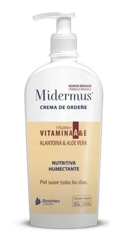 Midermus Crema De Ordeñe Vitamina A 250gr
