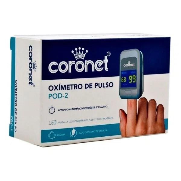Oxímetro de pulso Coronet