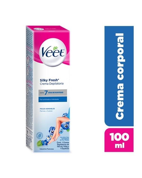 Veet, crema depilatoria Piel Sensible 100 ml #1