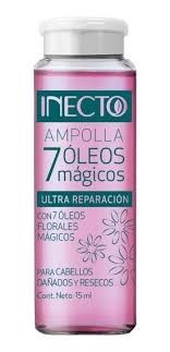 Inecto Ampolla 7 Oleos Magicos x15ml